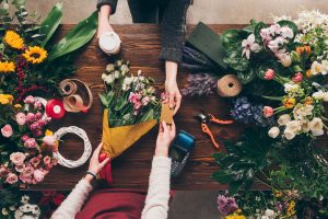 flower shop, small business